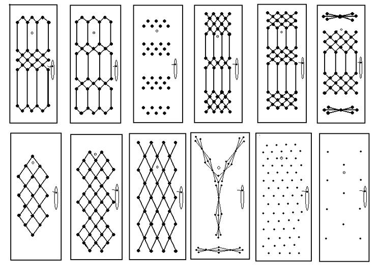 Рисунки для обивки дверей