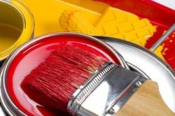 Покраска акриловой краской