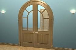 Межкомнатная арочная дверь