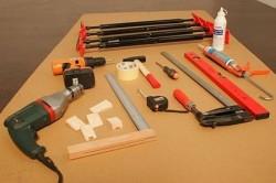 Инструменты, необходимые для установки двери