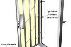 Установка двери с шумоизоляцией