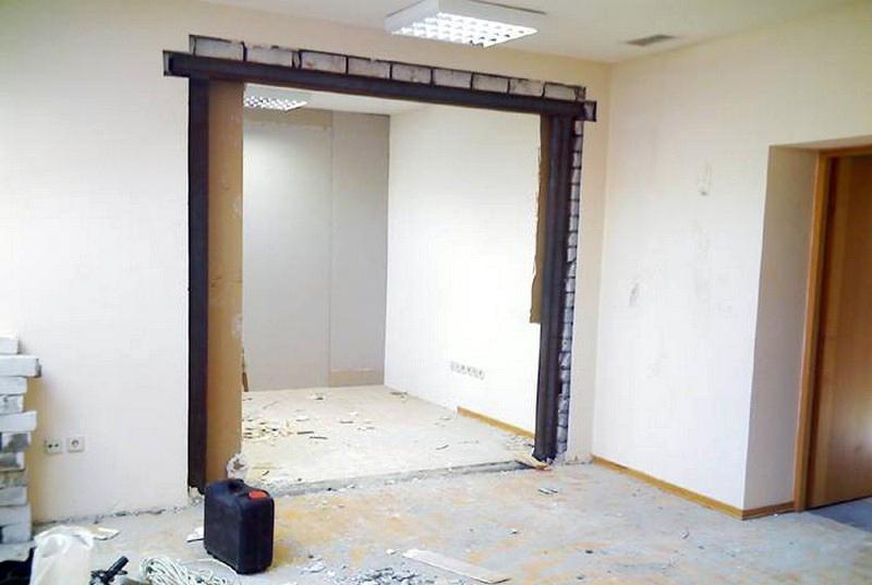 Как сделать дверной проем в стене из гипсокартона фото