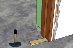 Подложка клина под коробку