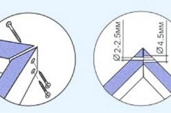 Схема состыковки брусьев коробки