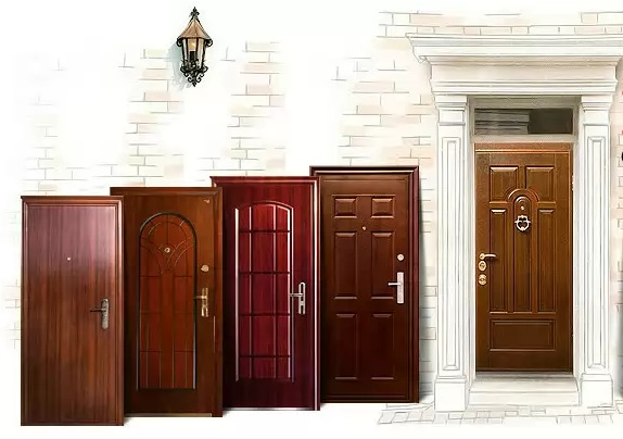 Разновидности стальных дверей