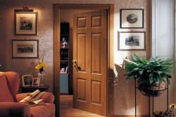 Установленная межкомнатная дверь