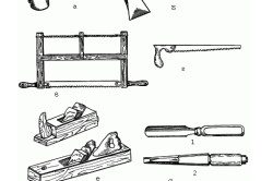 Инструменты для изготовления деревянной двери