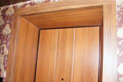 Как сделать дверной проем входной двери