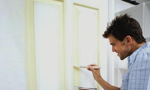 Как красиво покрасить двери межкомнатные фото