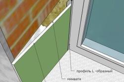 Чем отделать откосы входной двери