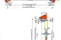 Двупольные противопожарные двери схема монтажа