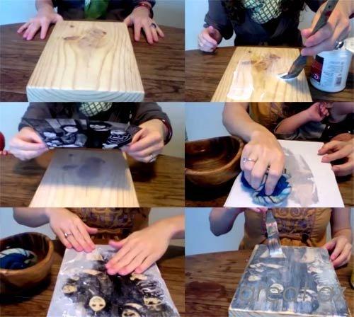 Как обновить старую деревянную дверь своими руками