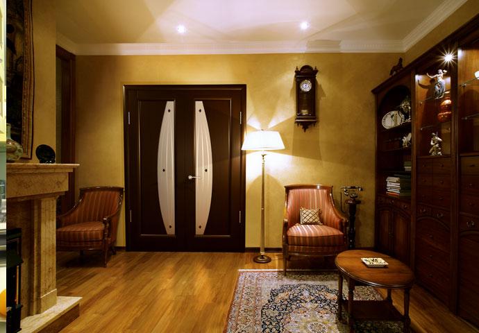 Пример подбора цвета двери под мебель