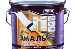 Краска-эмаль для дверей с эффектом пластика