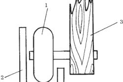 Схема крепления нижних роликов раздвижной двери