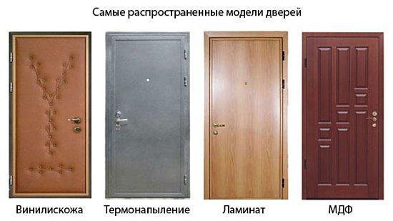 Схема деревянной двери