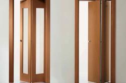 Как сделать складную дверь своими руками