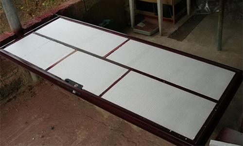 Изготовление самодельной металлической двери