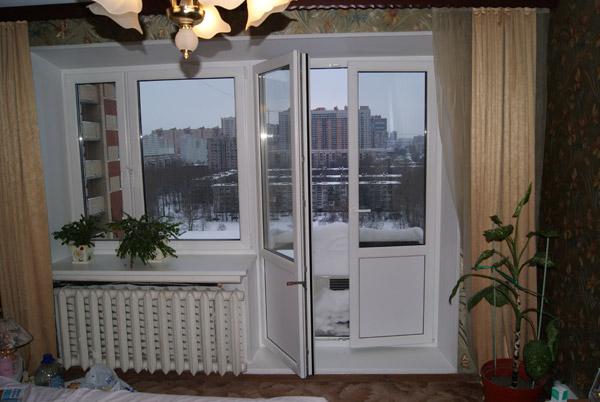 Установка балконной двери: инструменты, размеры, монтаж.