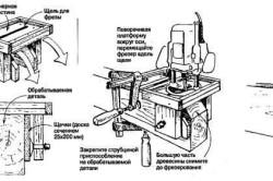 Схема фигурных торцов обналички из МДФ