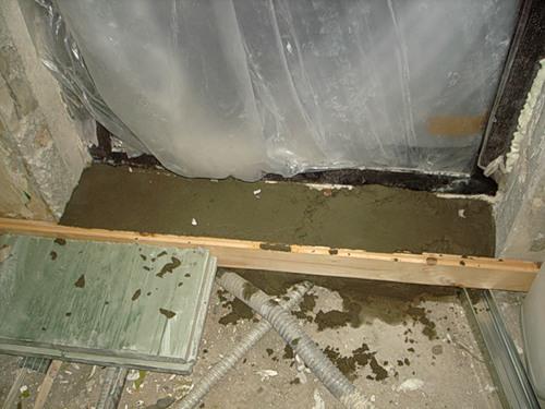 Как сделать порог на балкон: способ изготовления (фото, виде.