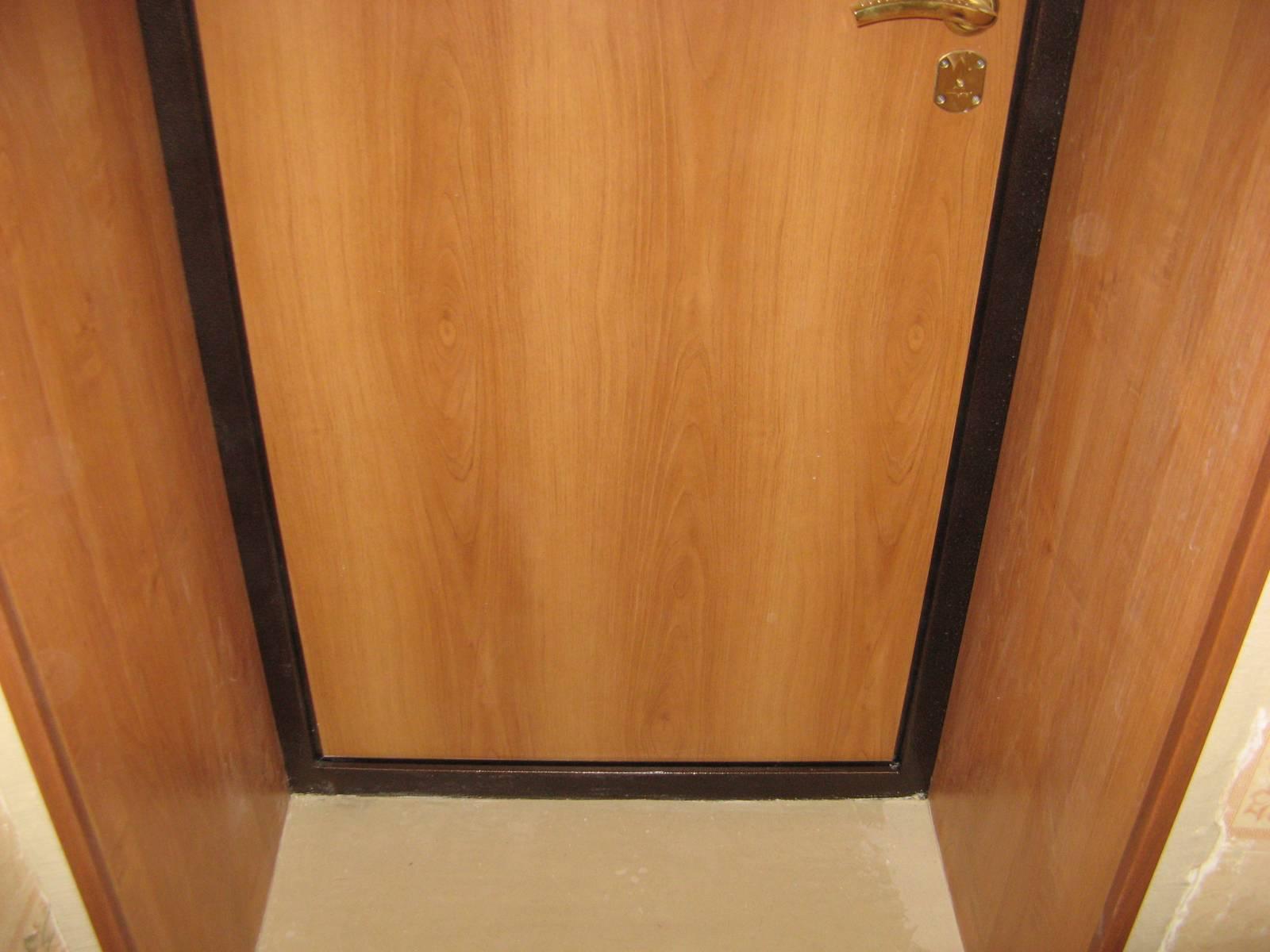 Заделать дверной проем своими руками