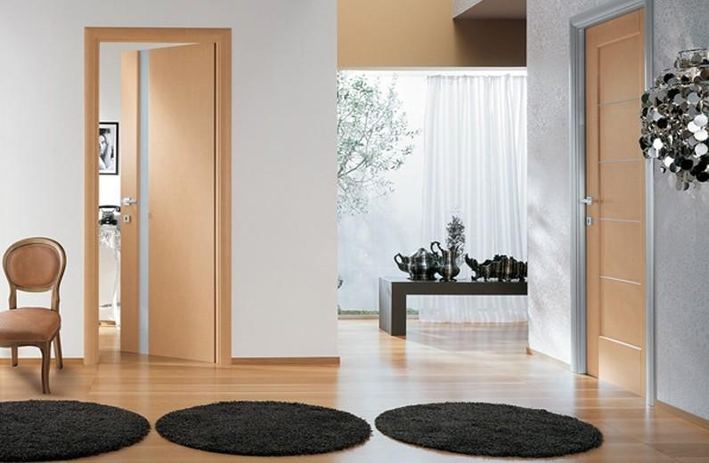 Установленные межкомнатные двери