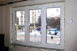 Пластиковое окно без откосов