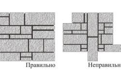 Технология кладки декоративного камня
