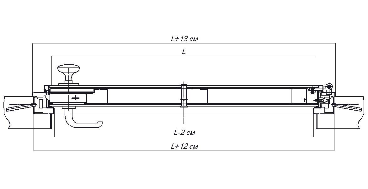 Ключевые размеры двери