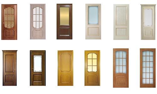 Широкий выбор различных дверей для квартиры
