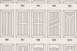 Варианты обшивки дверей вагонкой