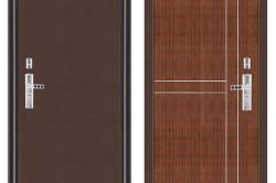 Дизайн внешней и внутренней отделки металлической двери