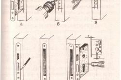 Как правильно врезать замок в межкомнатную дверь