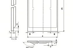 Стандартный размер панелей для стандартных дверей