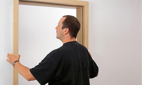 Стандартный проем двери