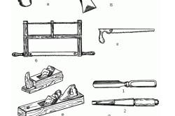 Инструменты для изготовления банной двери