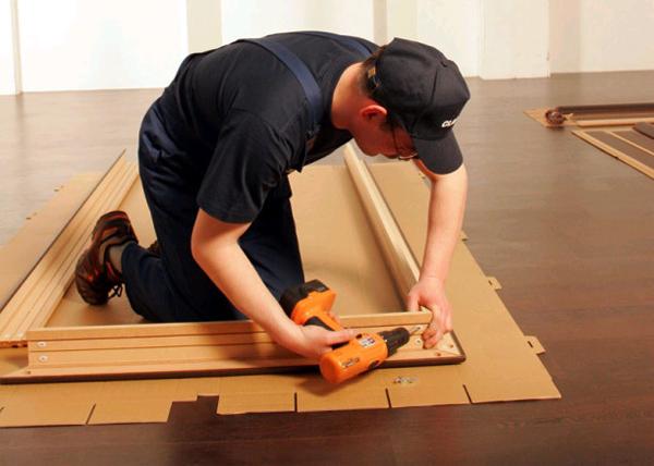 Изготовление коробки для двери