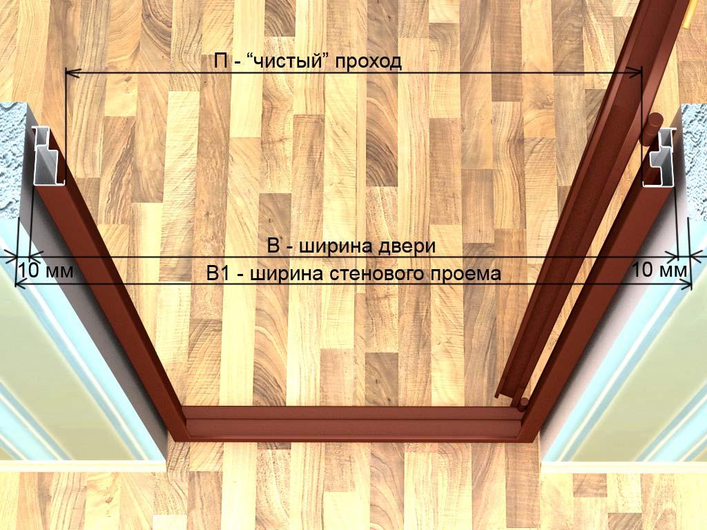 Установка межкомнатных дверей (фото, видео).