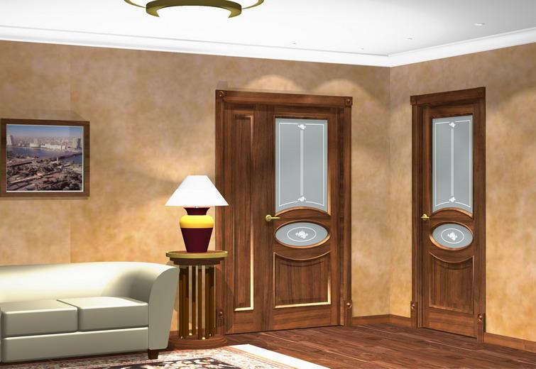 Реставрация деревянной двери своими руками